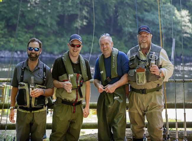 Salmon Fishing Friends