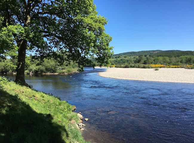 A big part of success in Scottish salmon fishing is knowing the best seasonally appropriate salmon fishing areas. A professional salmon fishing guide will know exactly where to place you for your best chance of success.