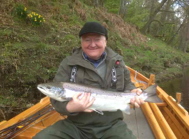 The Spring months are certainly some of the most exciting in Scottish salmon fishing due to the quality of a Spring fish and it's cold water fighting ability. Personally I love the Spring months more than any other time of the year and always have done since the 1970's.