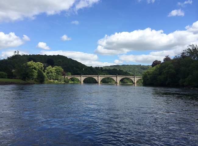 This Is The Telford Bridge At Dunkeld