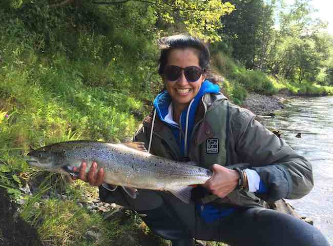 Salmon Fishing Is For All The Family