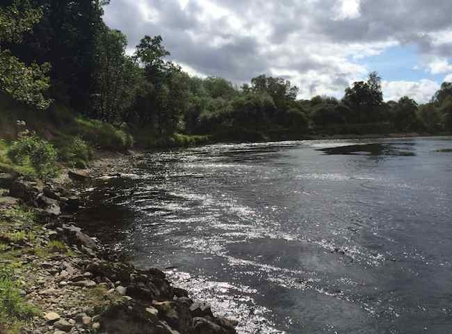 Here's A Classic Salmon Holding Pool On The River Tay