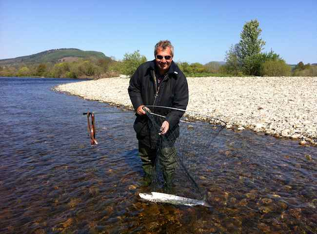 Catch A Salmon In Scotland