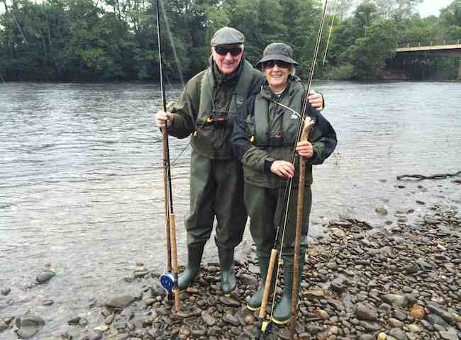 Husband & Wife Salmon Fishing Breaks