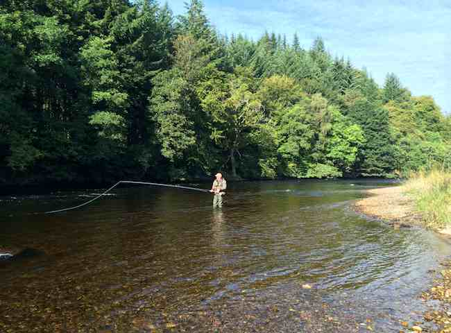 Fly Fishing On Scottish Rivers