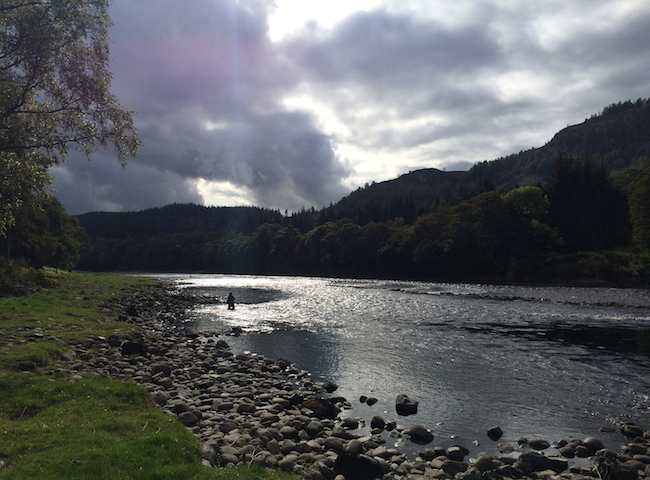 Moments On The Scottish Salmon River