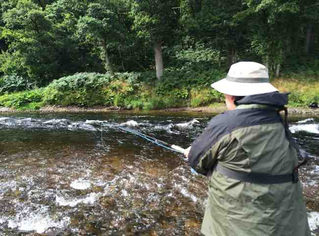Learn The Art Of Scottish Salmon Fishing