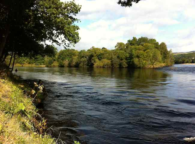 The River Tay In Summer