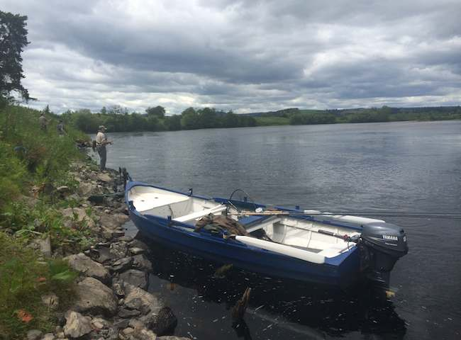 The River Tay Boat Fishing