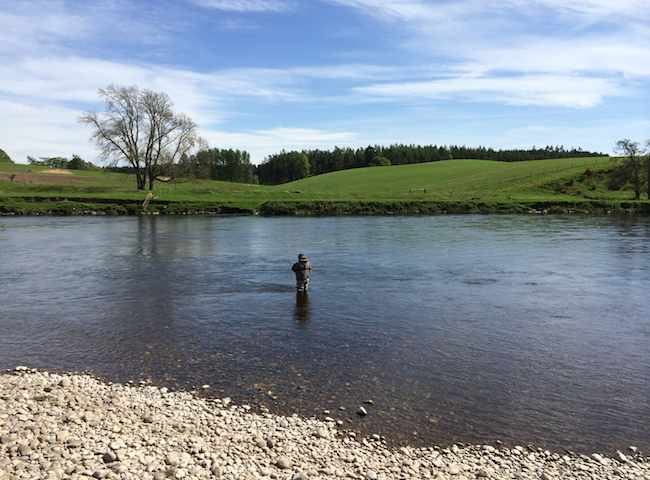 Fishing The Beautiful Scottish Rivers