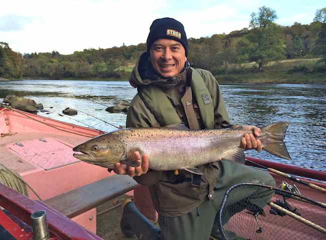 Fishing For River Tay Salmon