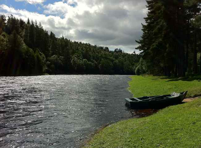 Fishing On The Famous River Spey