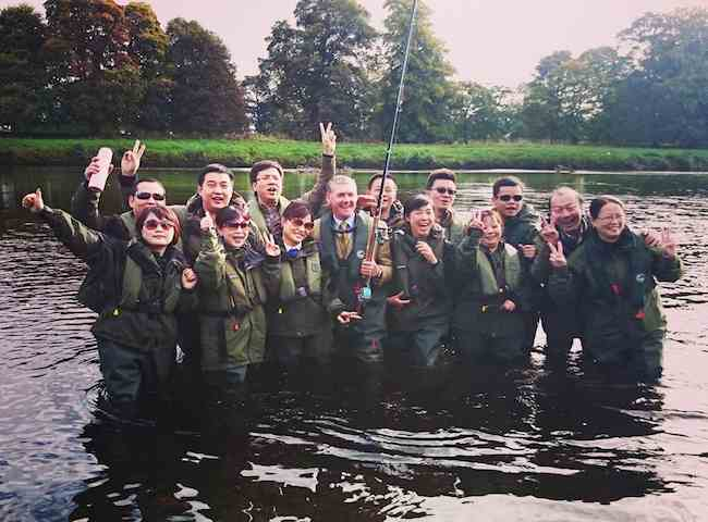 Host A Scottish Salmon Fishing Event