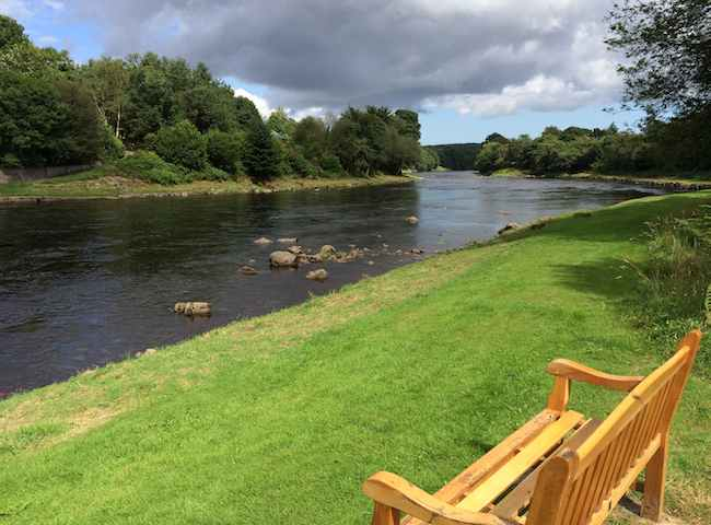 The River Dee At Banchory
