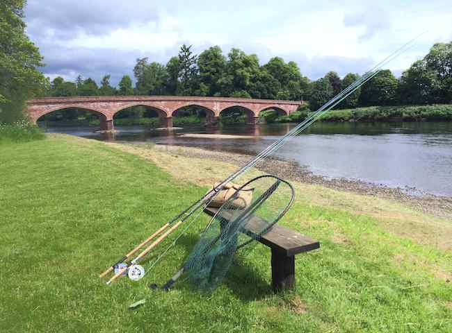 The Meikleour Bridge On The River Tay