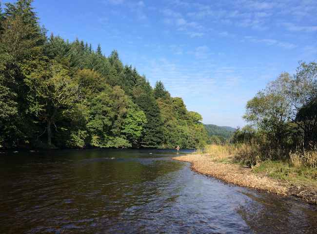 The Beauty Of The Scottish Salmon River