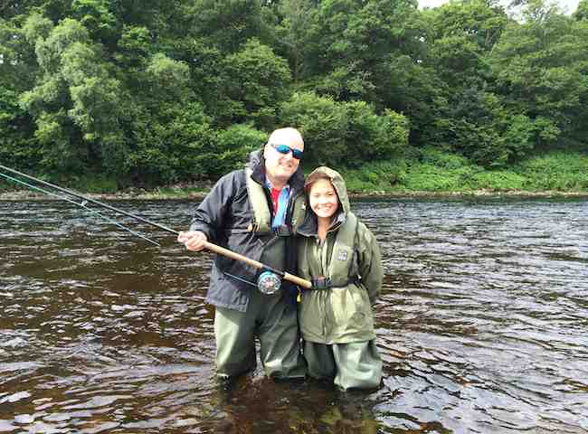 Learning Scottish Salmon Fishing