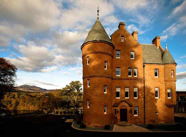 The Beautiful Fonab Castle