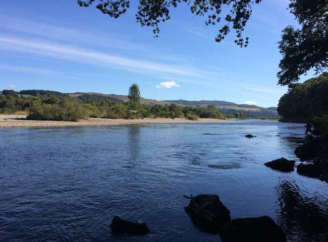 The River Tay Near Pitlochry