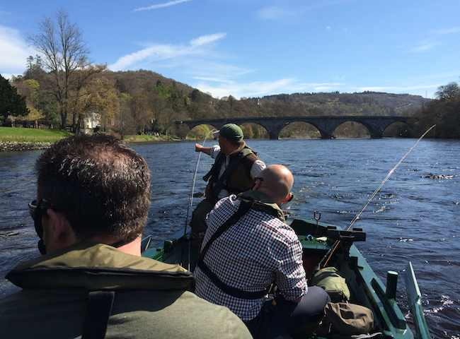 River Tay Fishing Trips