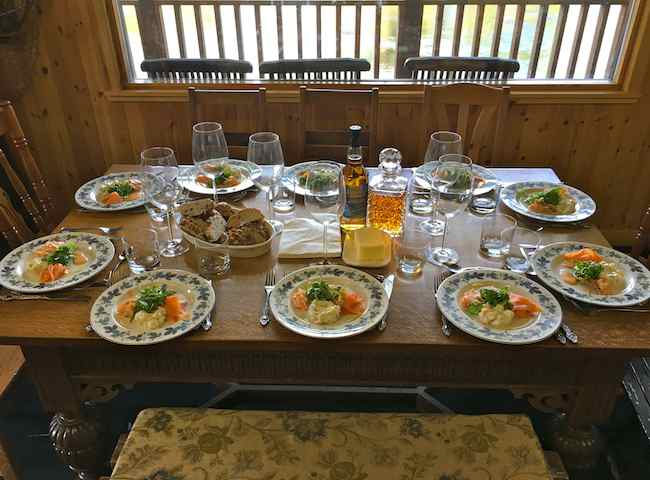 Salmon Fishing Catering Service