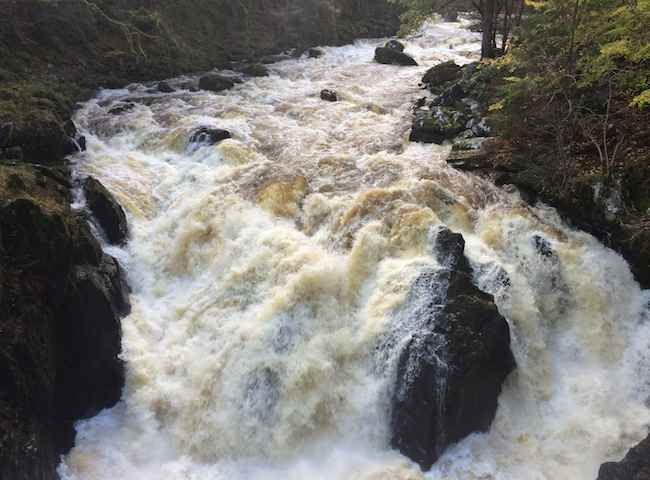 Scottish River Scenery