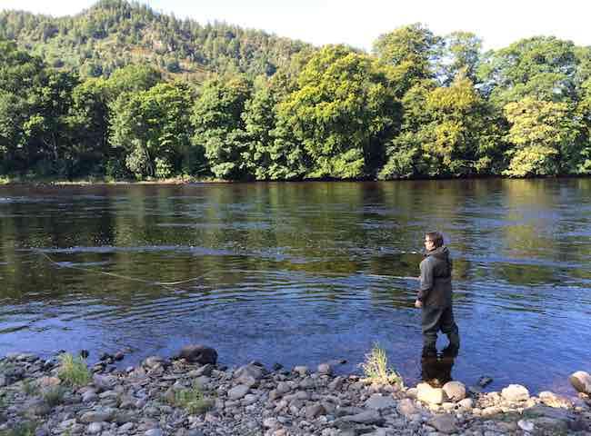 UK Salmon Fishing Trips