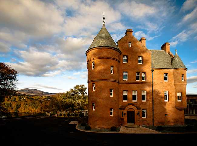 The Fonab Castle In Perthshire