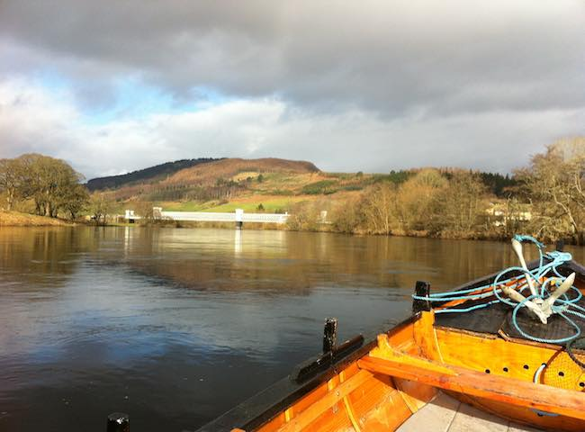 Fishing The Tay For Salmon