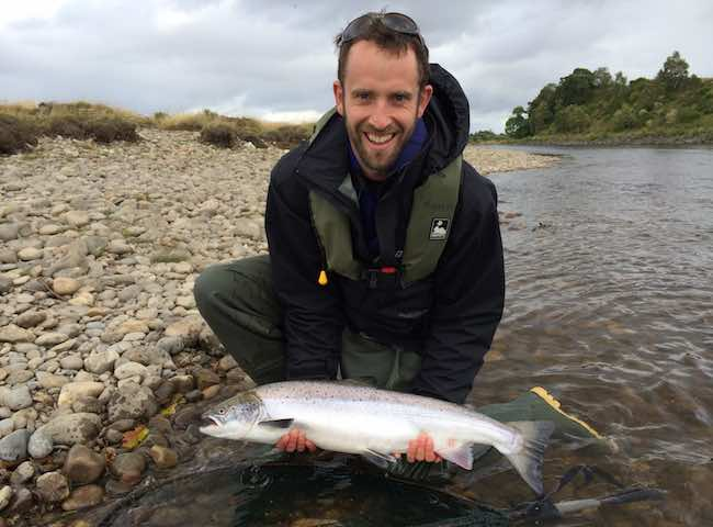 Guided Tay Salmon Fishing