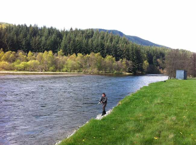 Catching River Tummel Salmon