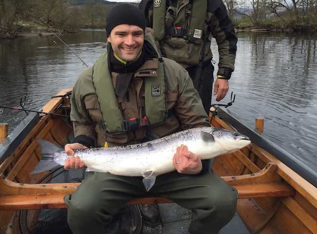 Fishing The Tay In Springtime