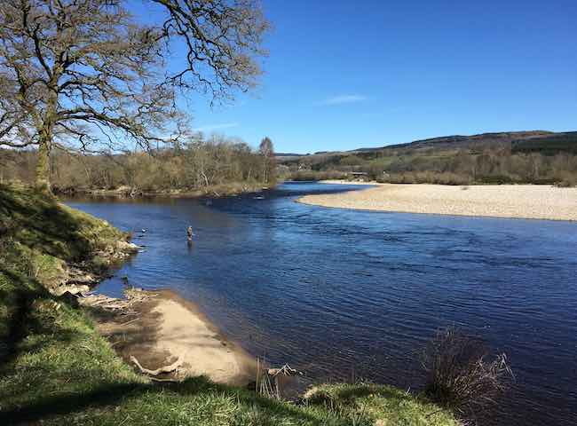 Salmon Fishing Breaks In Scotland