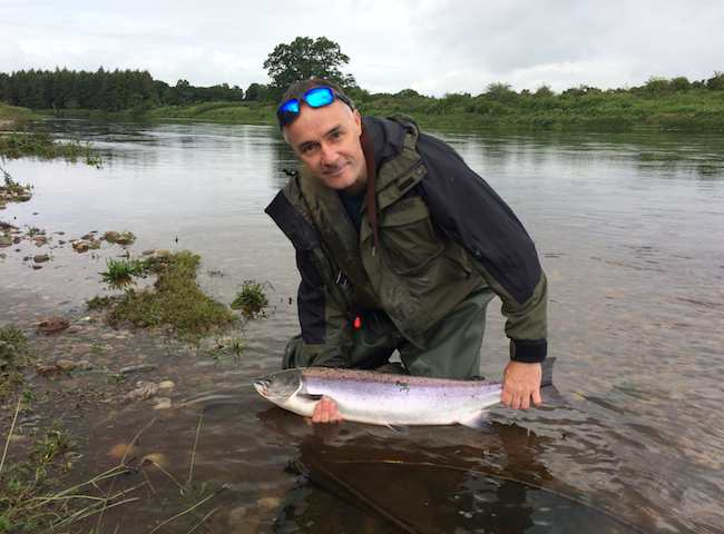 Catching Scottish Salmon
