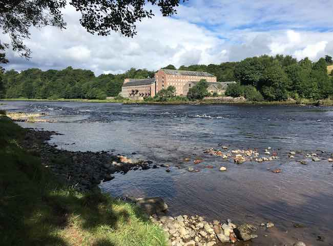 The River Tay At Stanley