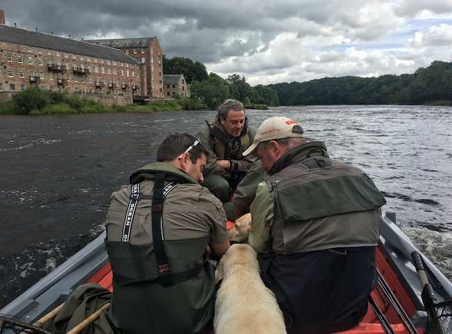 Taking The Boat Across The Tay