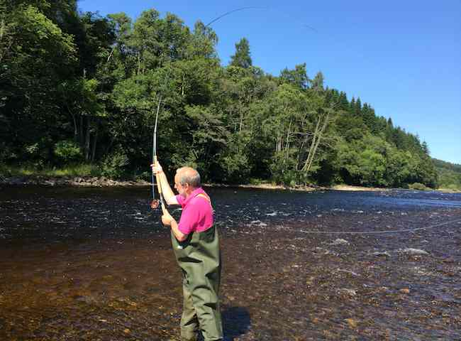 Salmon Fishing On The Tay
