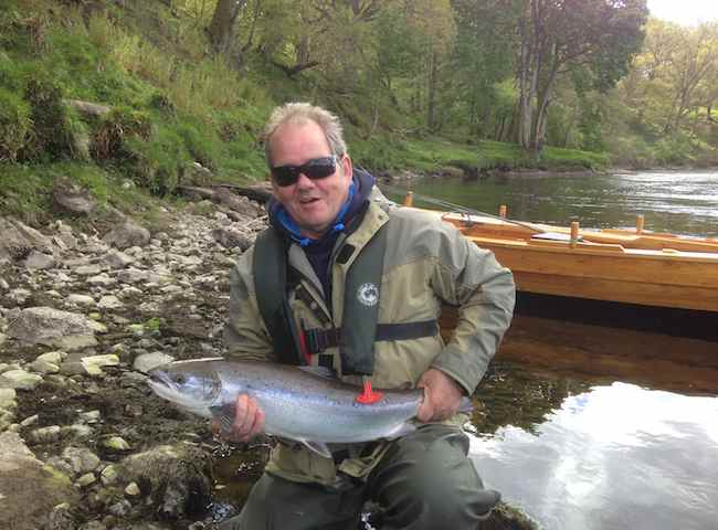 Catching Tay Salmon