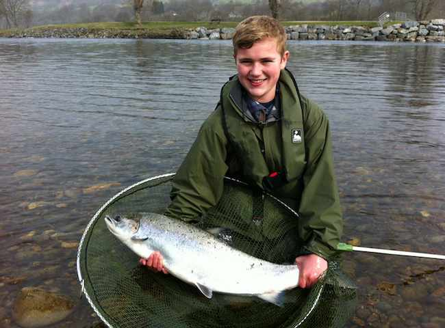 Spring Fishing River Tay