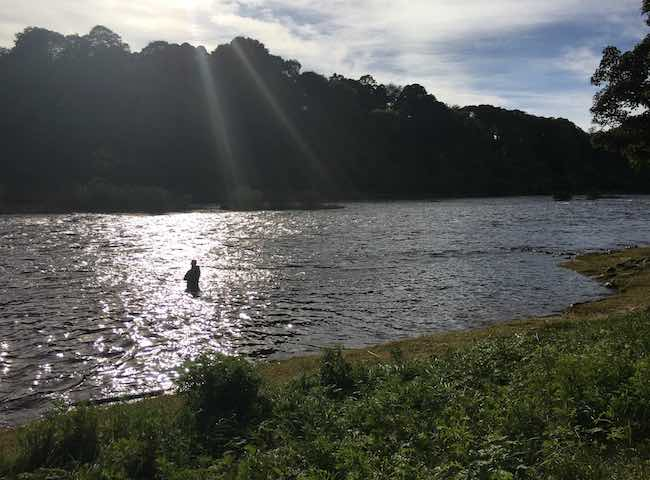 Fishing The Tay With A Guide