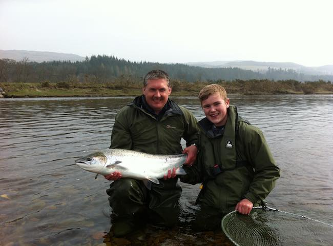 Spring Fishing On The Tay