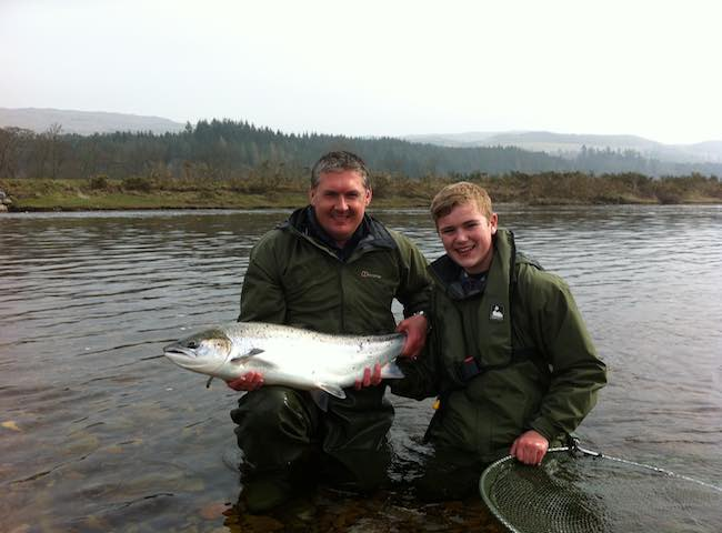 River Tay Spring Fishing