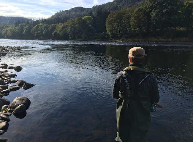 There's loads to be learned en route to becoming an effective catcher of wild Atlantic salmon on the Scottish rivers. Book a professional salmon guide to fast track you through the learning curve.
