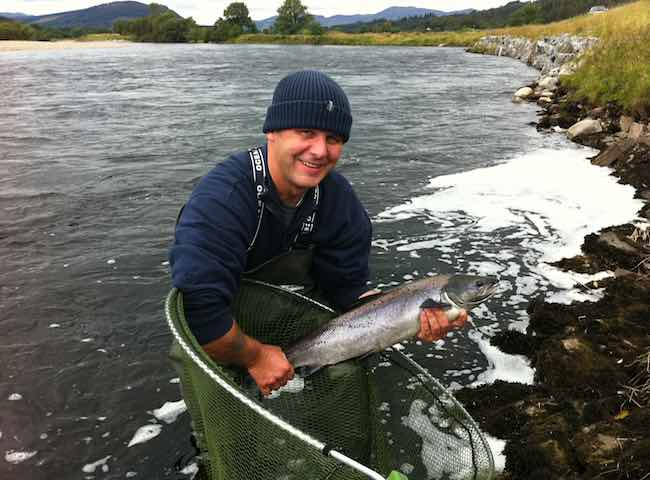 Professional Salmon Fishing Advice