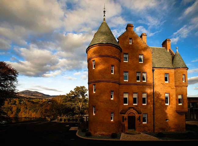 The Fonab Castle In Pitlochry