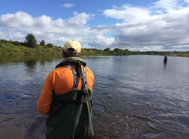 Nothing increases your chances of catching an Atlantic salmon than being under the professional overwatch of a time served Scottish salmon guide. Don't leave your fishing approach to chance as there's more tact involved in catching these fish than most people think.