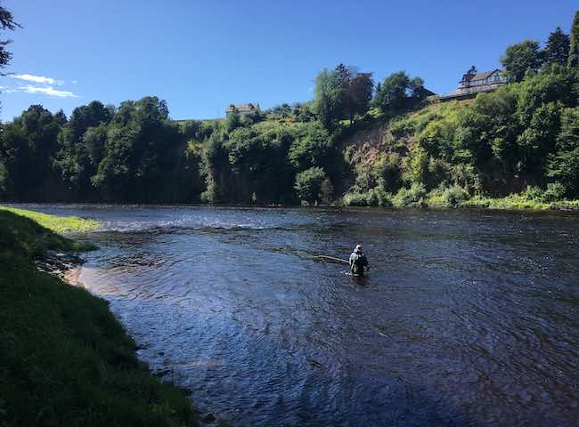 Salmon Fishing Breaks Scotland