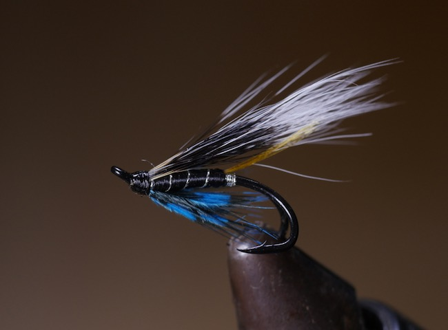 The Blue Charm Salmon Fly