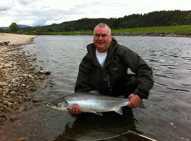 Salmon Fishing Trip Service