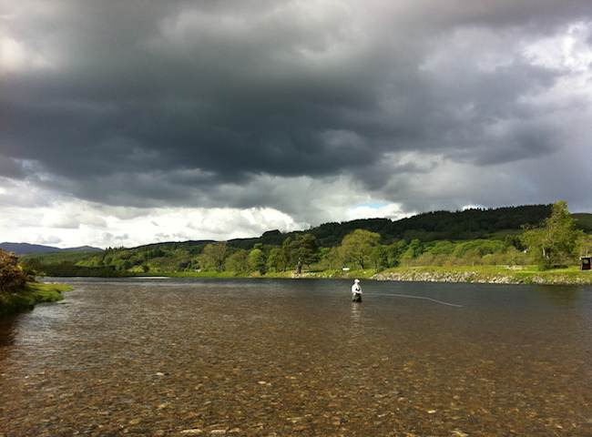 The River Tay In Perthshire